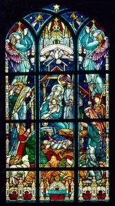 Nativity Window, St. Ambrose Church, Dorchester, Ma