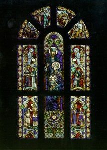 Detail, Holy Family Window, Holy Family Church, Duxbury, Ma.