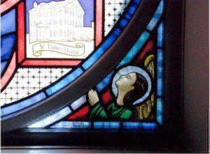 Detail, Sherrill House Window, Boston, Ma