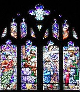 Nativity Window, St. George's School Chapel Window, Middletown, RI