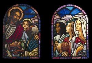 Jesus with the Women Window, St. Jame's Episcopal Church, Cambridge, Ma