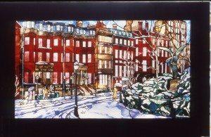 Boston in Winter, Residence, Boston, Ma.