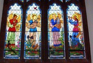 Music Window, Simsbury United Methodist Church, Simsbury, Conn.
