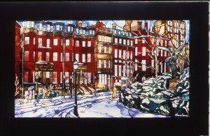 Boston in Winter, Residence in Boston, Ma.
