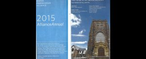 2015 Awards booklet from the Boston Preservation Alliance