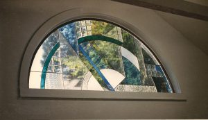 Art Deco Style Arched Window, Residence, Magnolia, Ma.