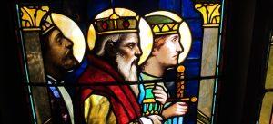 Detail, Nativity Window after Restoration, All Saints Ashmont Episcopal Church, Dorchester, Ma.