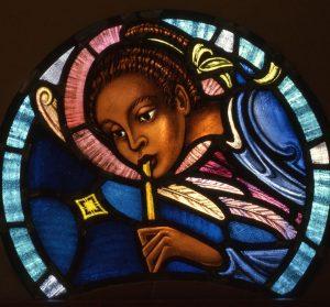 African American Angel, St. James Episcopal Church, Cambridge, Ma.
