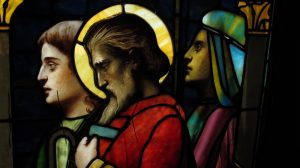 Detail, Nativity Window after Restoration, All Saints Ashmont Episcopal Church Dorchester, Ma.