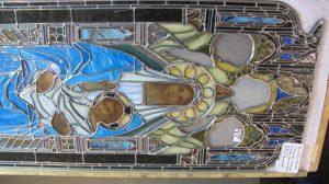 Madonna and Child after Restoration, All Saints Ashmont Episcopal Church, Dorchester, Ma.
