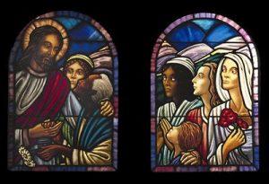 Jesus with the Women, St. James' Episcopal Church, Cambridge, Ma.